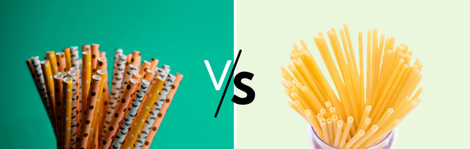 Pasta Straw VS Paper Straw
