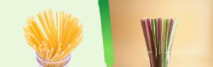 PastaStraw VS Rice Straw
